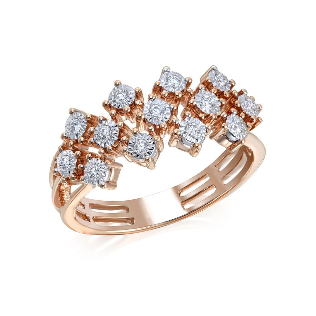 Elegant - Joie diamond ring in 18K gold