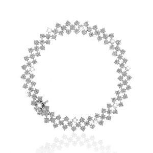 Classic Joie diamond bracelet in 18K white gold